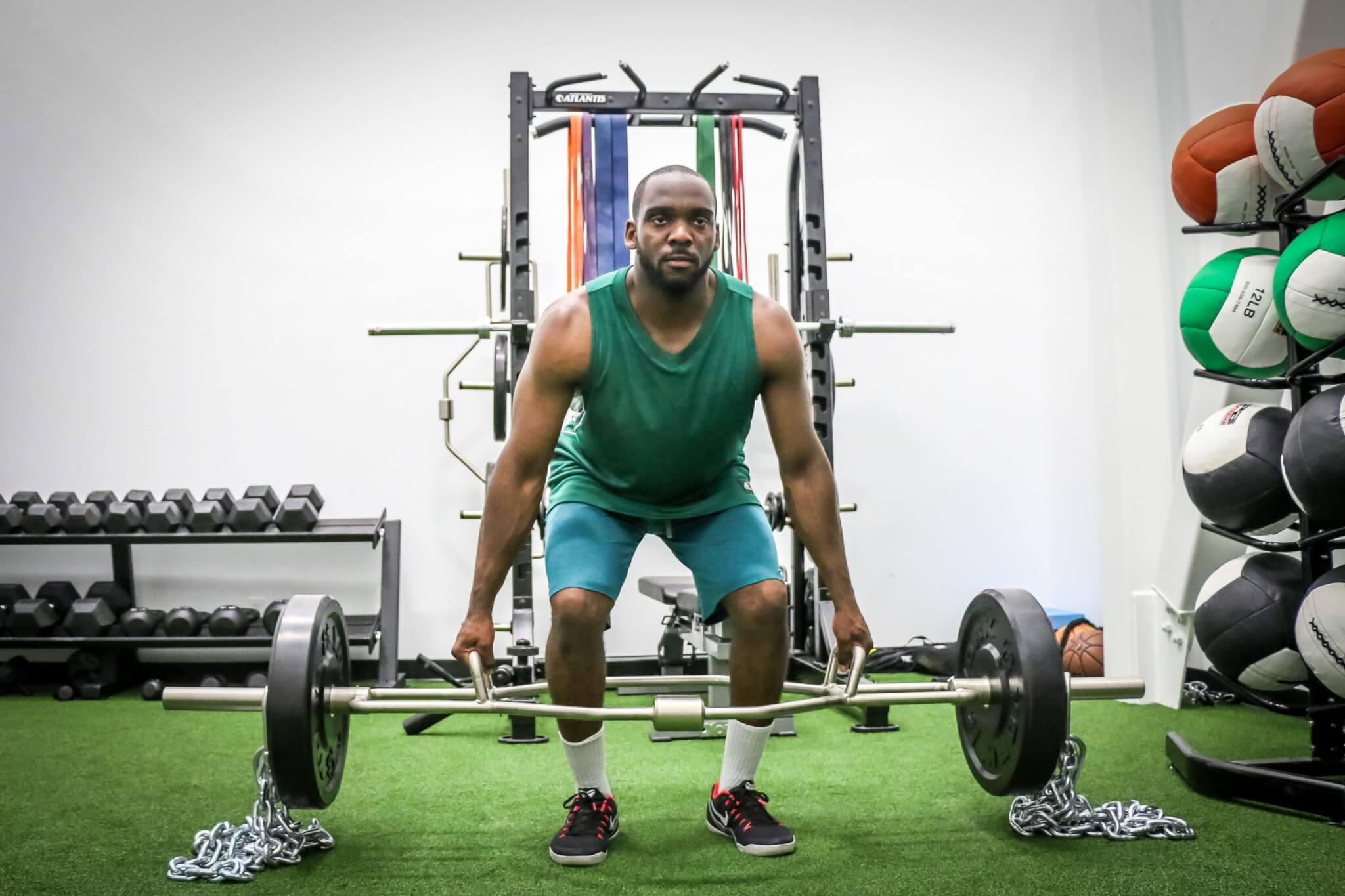 Toronto - Athlete Development Program (Trap Bar DL with Chains)