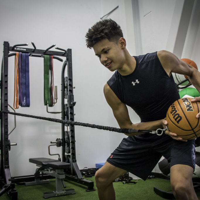 Our Programs - Basketball-Specific Strength and Conditioning (Anti-Core with FBT)